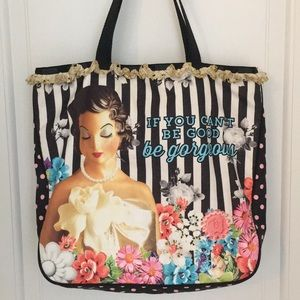"LeSportsac x Benefit Beauty ""LeFlirt"" tote bag"